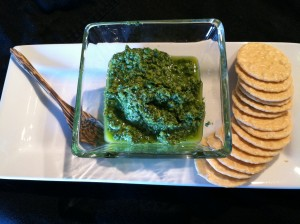 How to Make Basil Pesto (Video) dairy-free, paleo