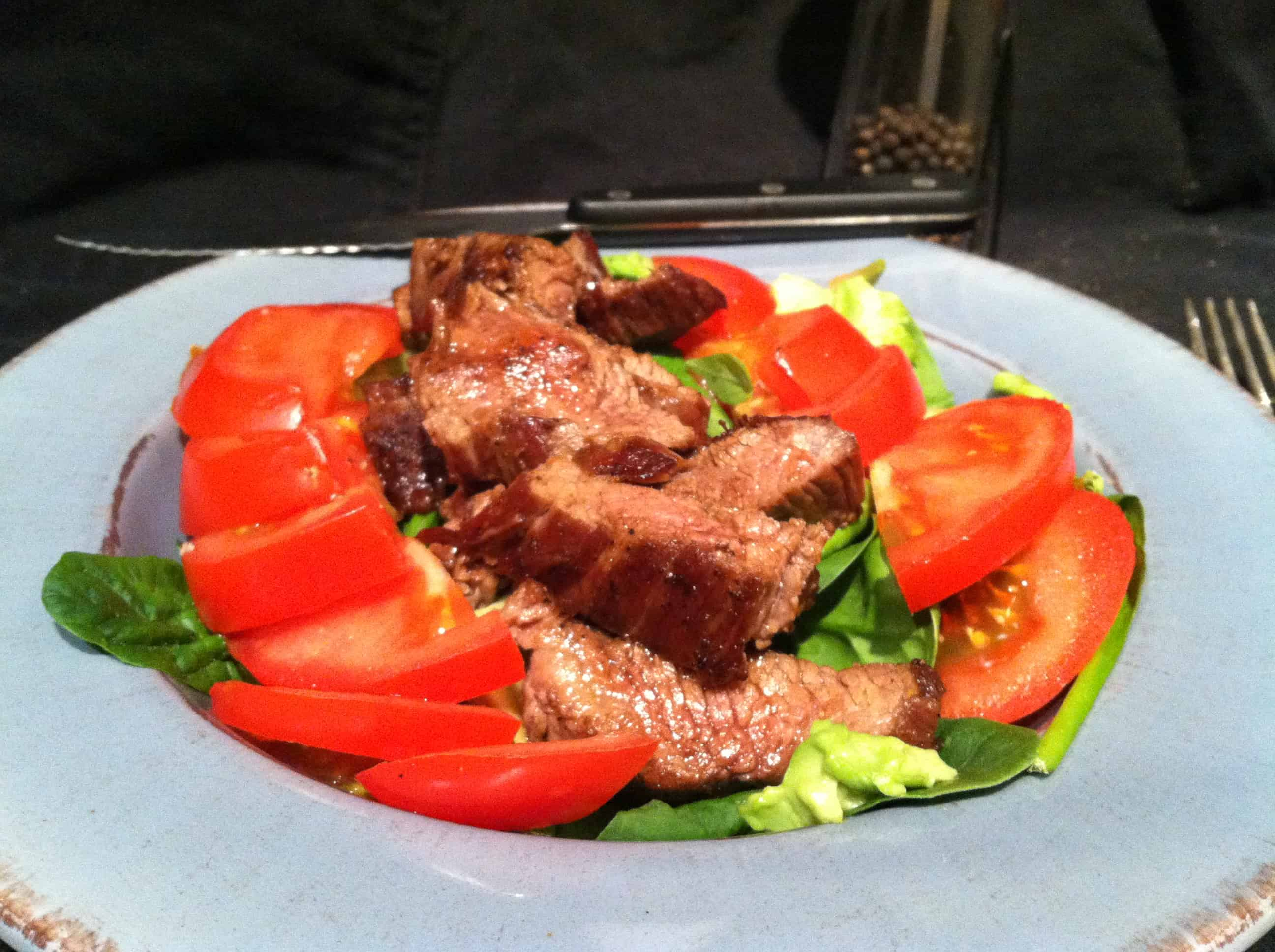 High Protein, Low Carb Steak Salad