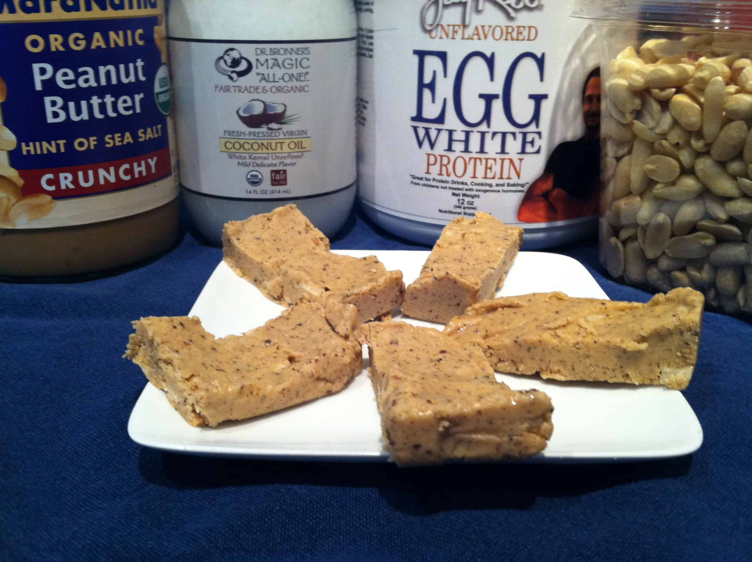 Betty Rocker's No-Bake Peanut Butter Protein Bars