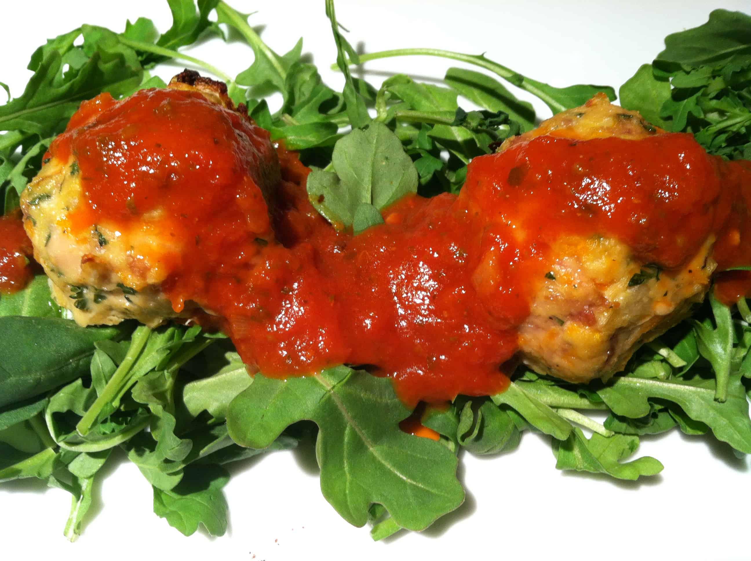 Paleo, Gluten-Free Turkey Meatballs