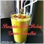Pumpkin Chai Protein Green Smoothie