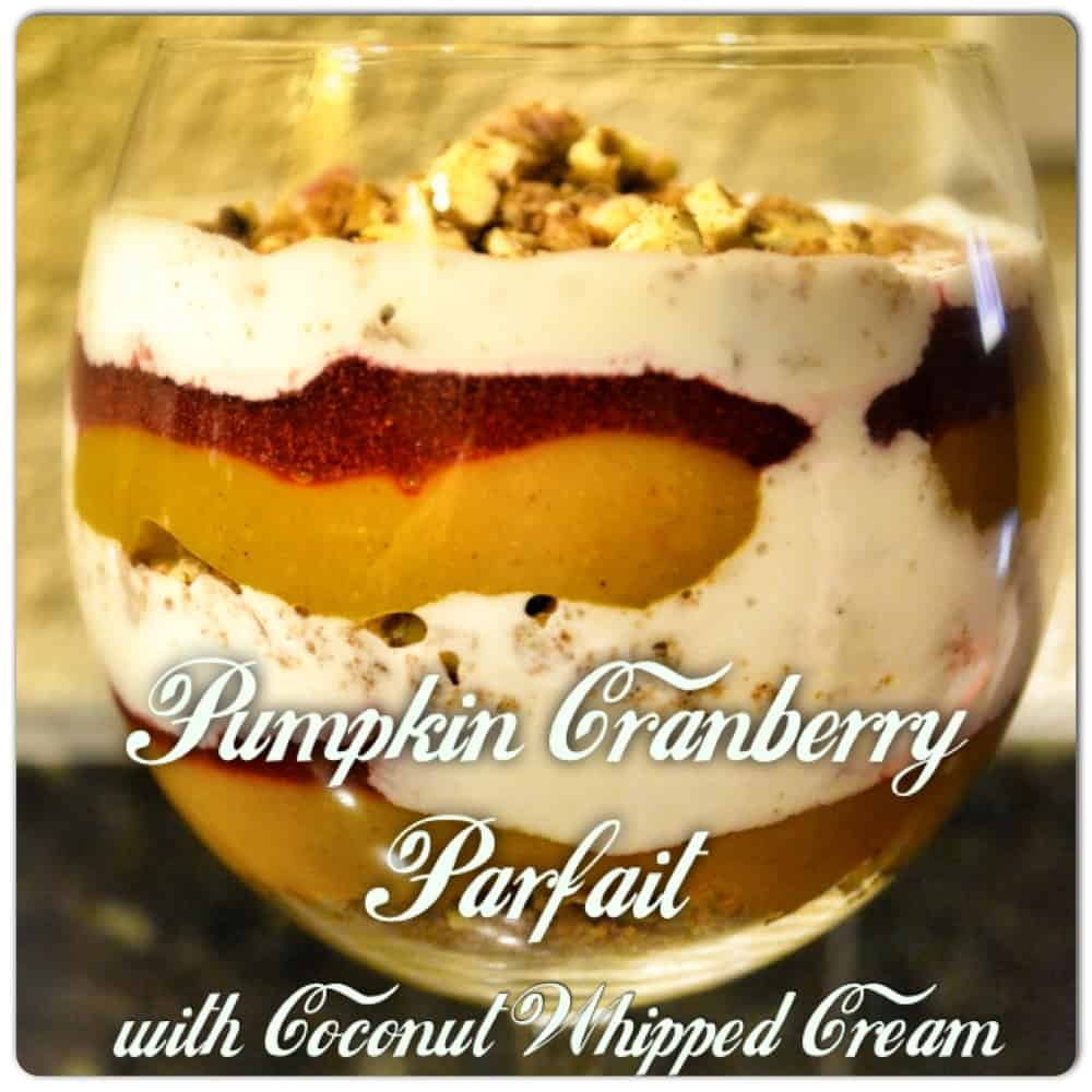 Pumpkin Parfait: A Perfectly Delicious and Healthy Thanksgiving Dessert by Whole Foods Healthy Eating Specialist Julie Magnussen