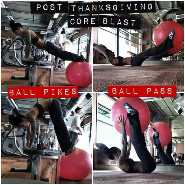 2 Post-Thanksgiving Ab-Shredding Exercises