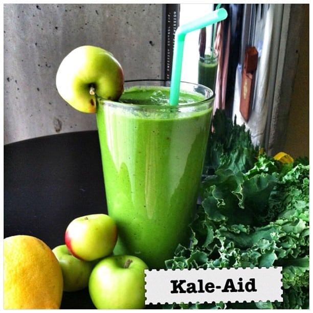 Kale-Aid Green Smoothie