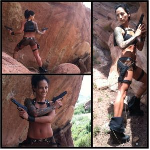 Betty Rocker's Anywhere Workouts Action Hero Series #1: Tombraider