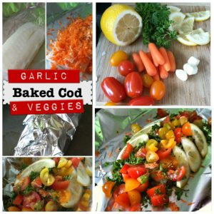 how to bake cod fish healthy