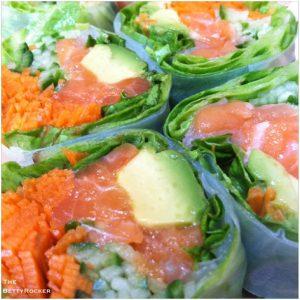 pacific salad roll