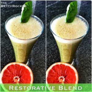 restorative green smoothie