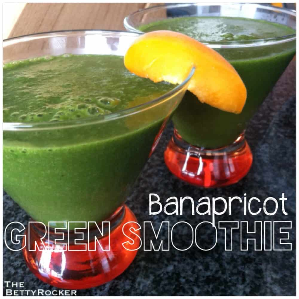 Banapricot Green Smoothie