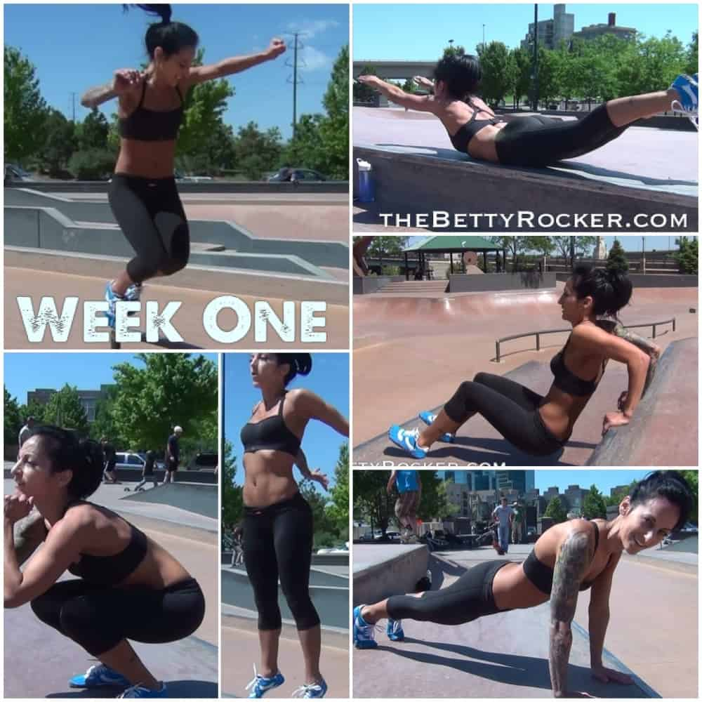 Witness the Fitness Challenge Week 1
