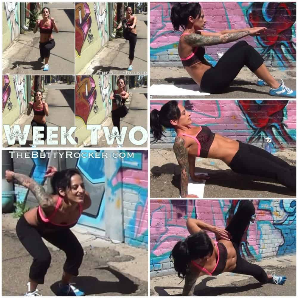 Witness the Fitness Challenge Week 2