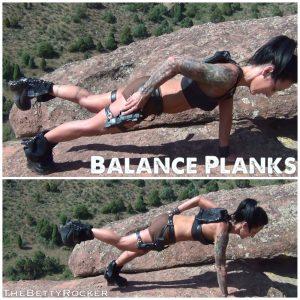 balancing planks