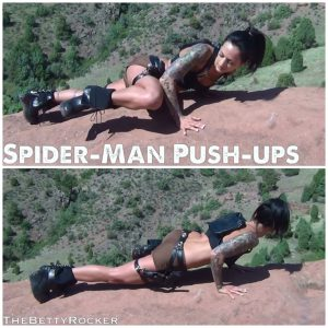 Spider Man Push Ups