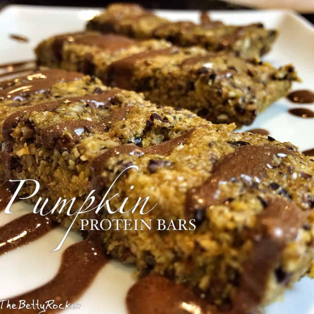 Pumpkin Protein Bars (gluten free/dairy-free)