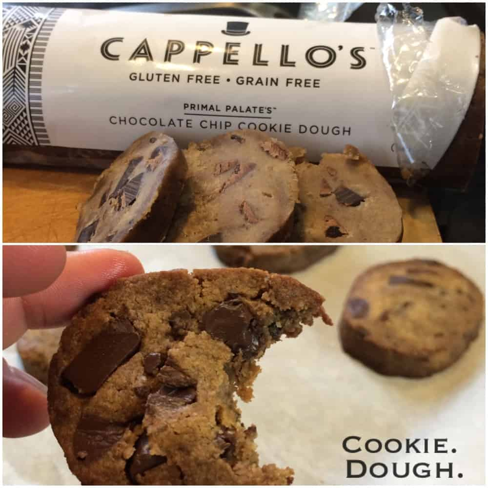 Mail-Order Primal Chocolate Chip Cookie Dough from Capello's