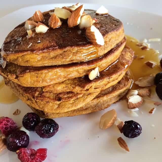 Pumpkin Spice Pancakes (gluten free, dairy free, grain free)