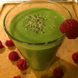 Pear Crisp Green Smoothie