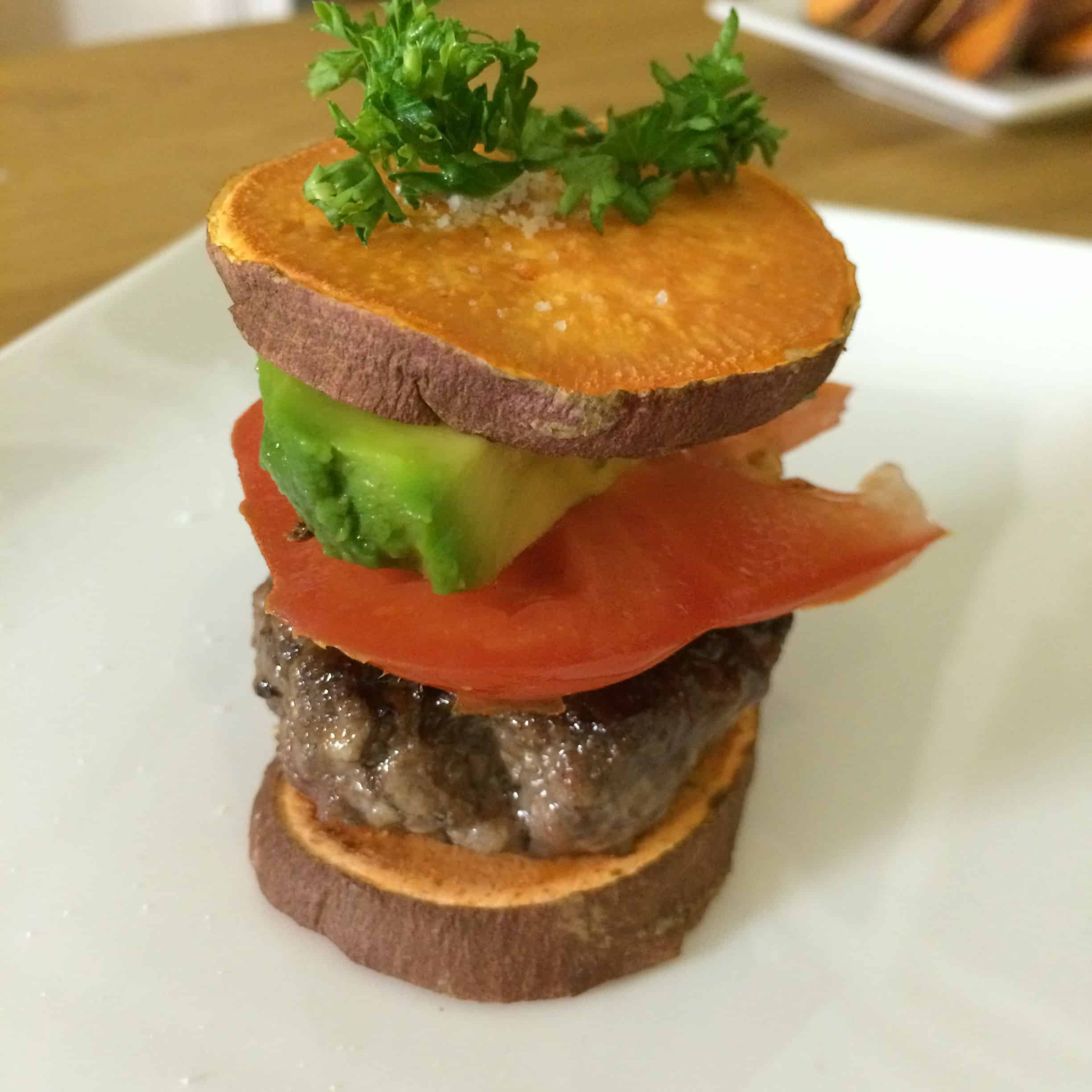 Sweet Potato Sliders [Video]