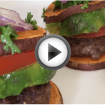 sweet potato sliders play