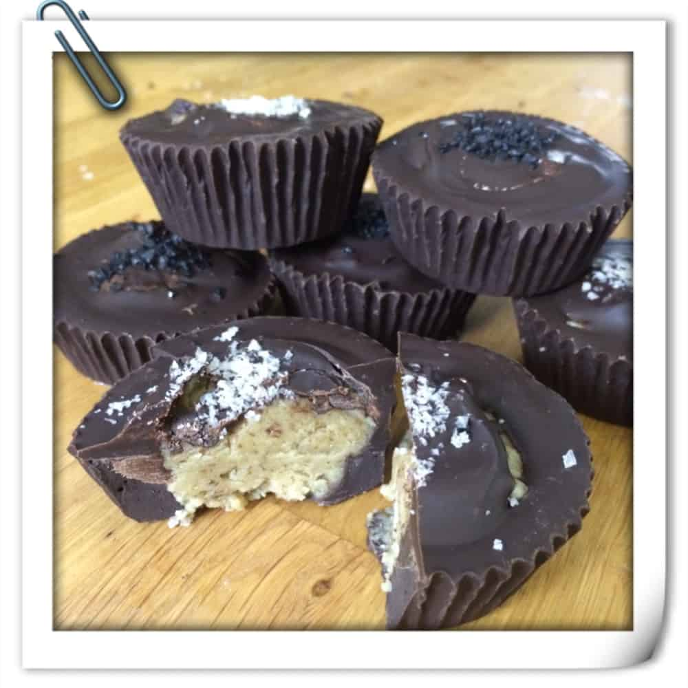Easy Dark Chocolate Nut Butter Cups (Video)