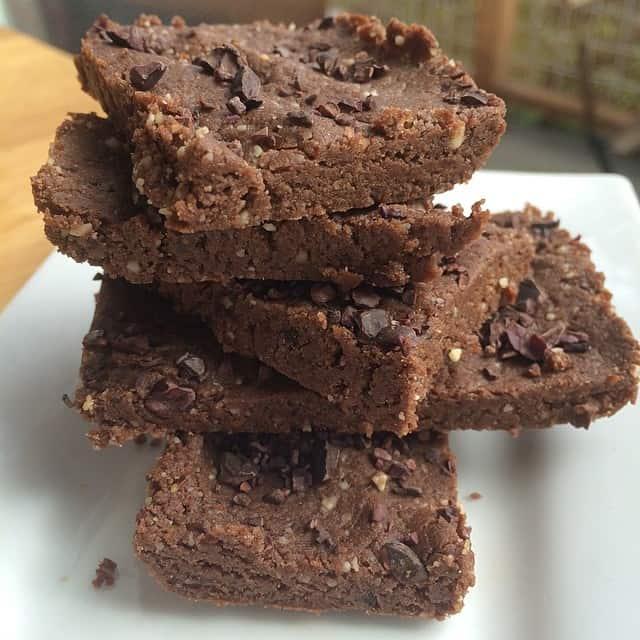 Raw Chocolate Protein Energy Bars