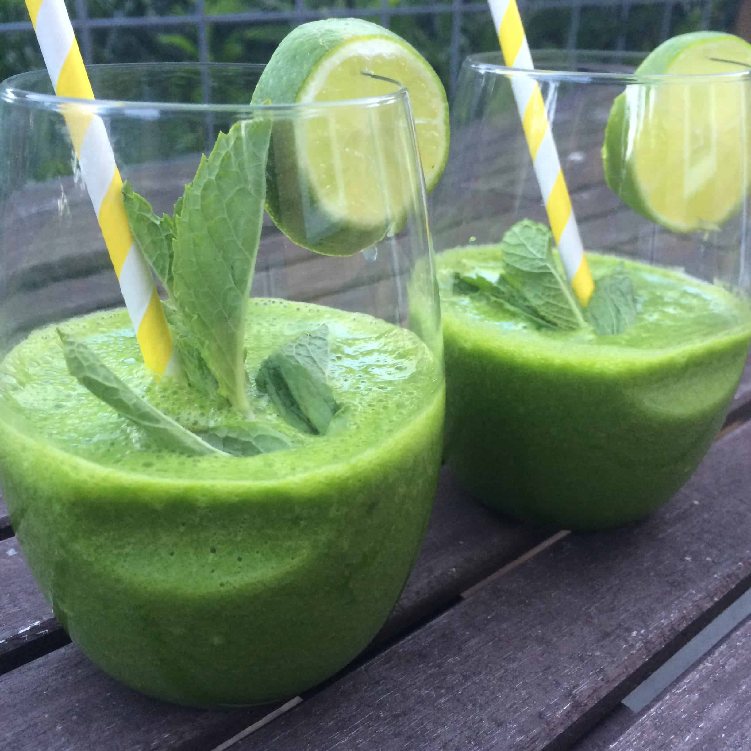 Mint Mojito Green Smoothie