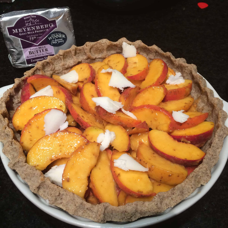 Paleo Peach Pie