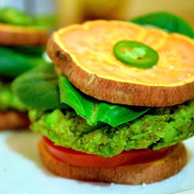 Edamame Burgers (vegetarian, gluten and dairy free ...