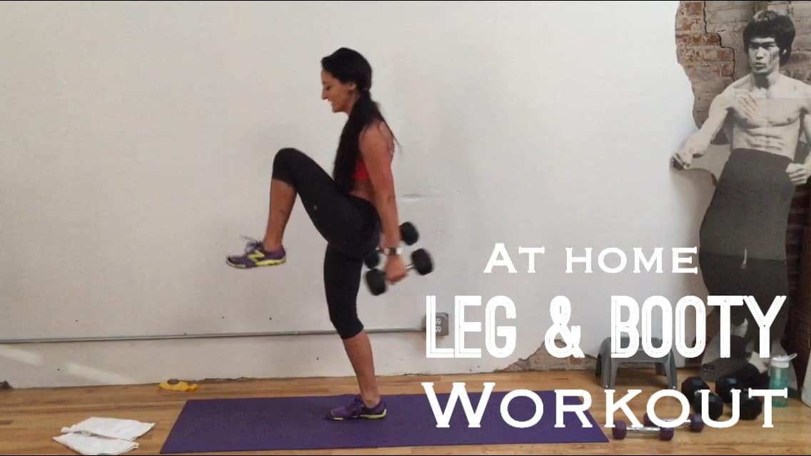 At Home Leg and Booty Workout - Betty Rocker