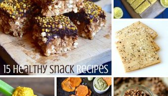 15 Healthy Snack Recipes