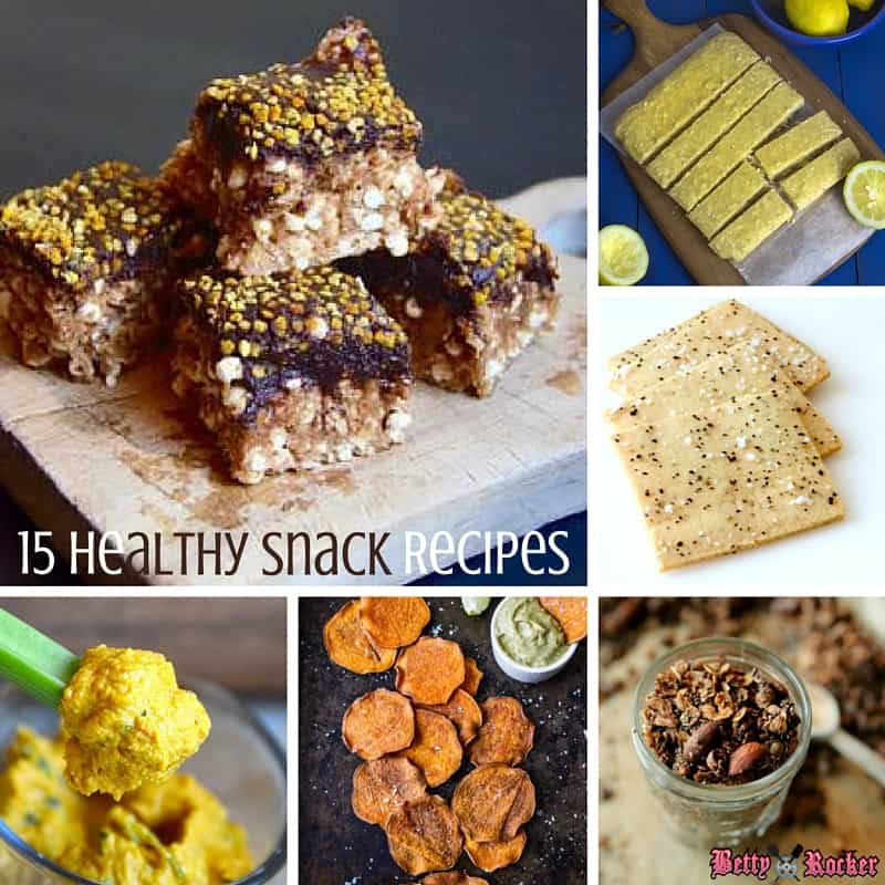 15 healthy snack recipes betty rocker forumfinder Choice Image