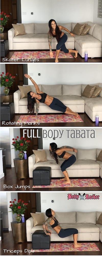 Full Body Tabata Pinterest Stack
