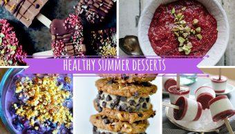 12 Healthy Summer Desserts Recipes