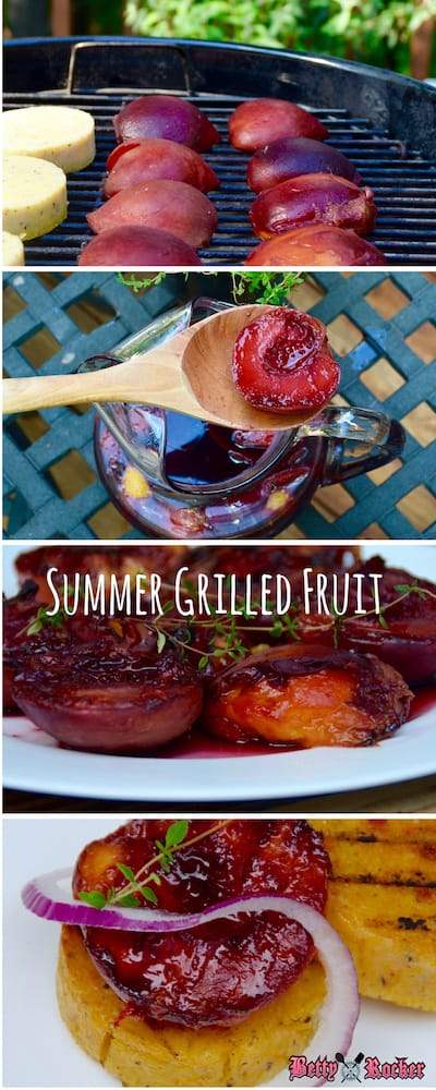Grilled Fruits stack