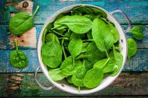 Betty Rocker, spinach