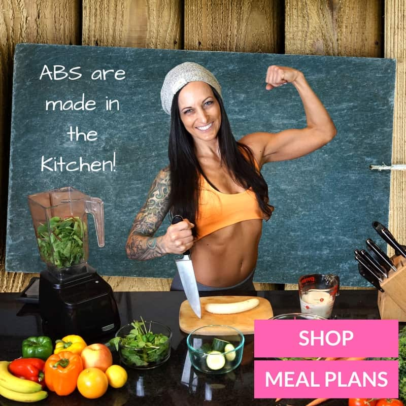 Abs are made in the kitchen banner