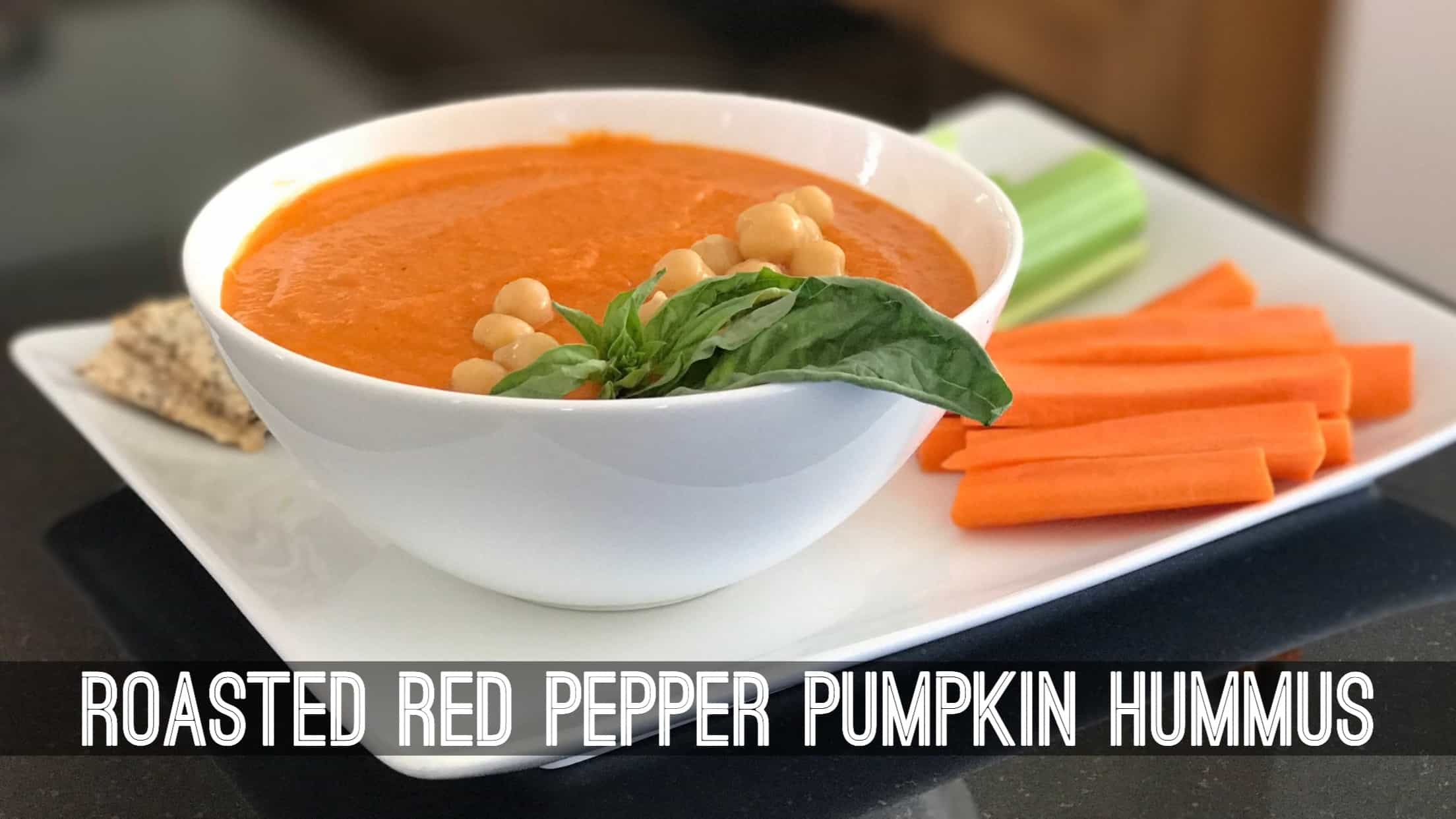 Roasted red pepper pumpkin hummus betty rocker for Roasted red peppers hummus