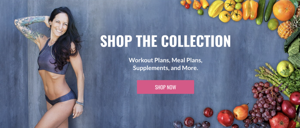 shop the collection banner